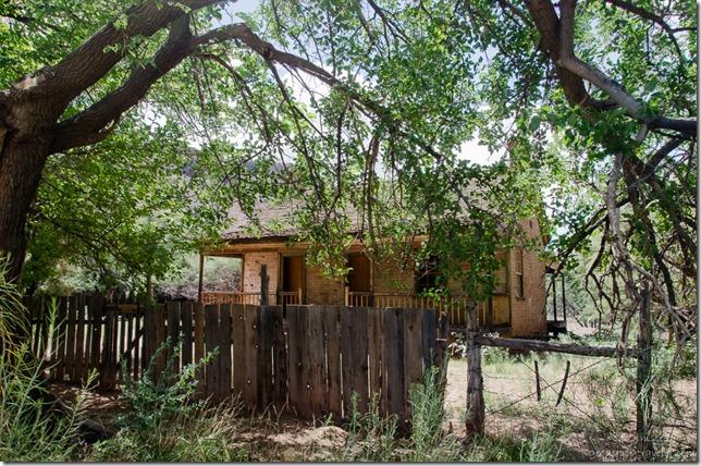 John Wood home historic Grafton Utah