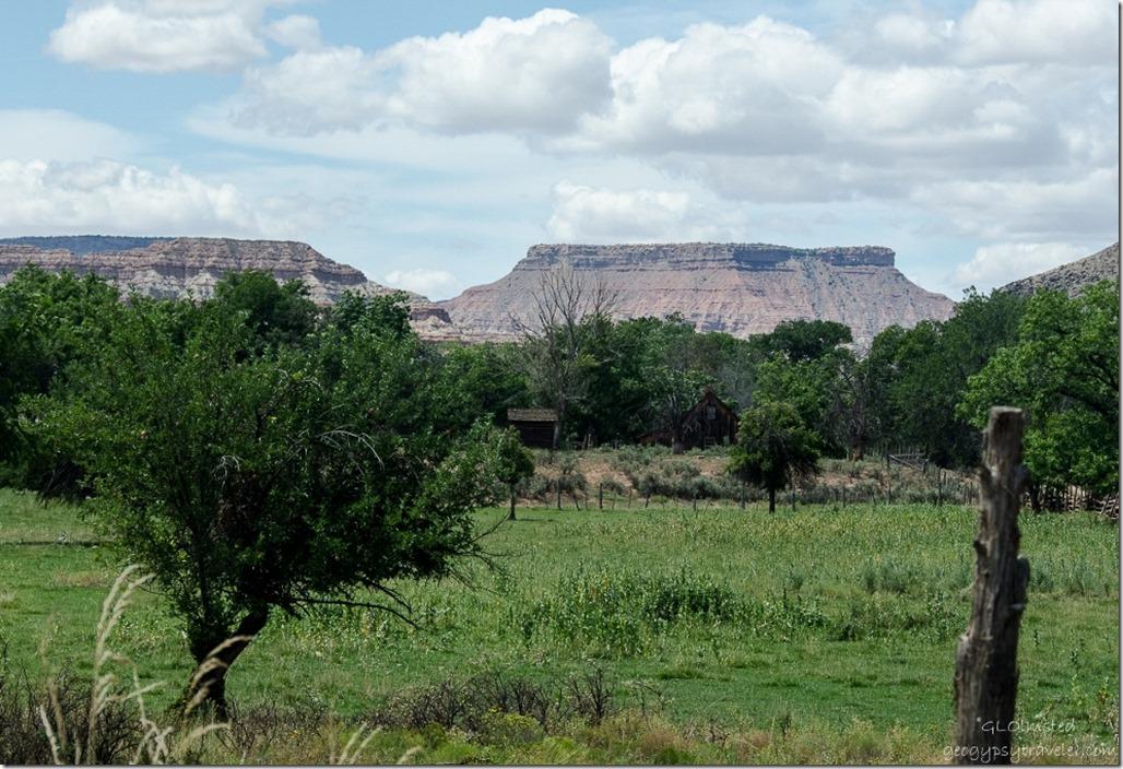 View from historic Grafton Utah