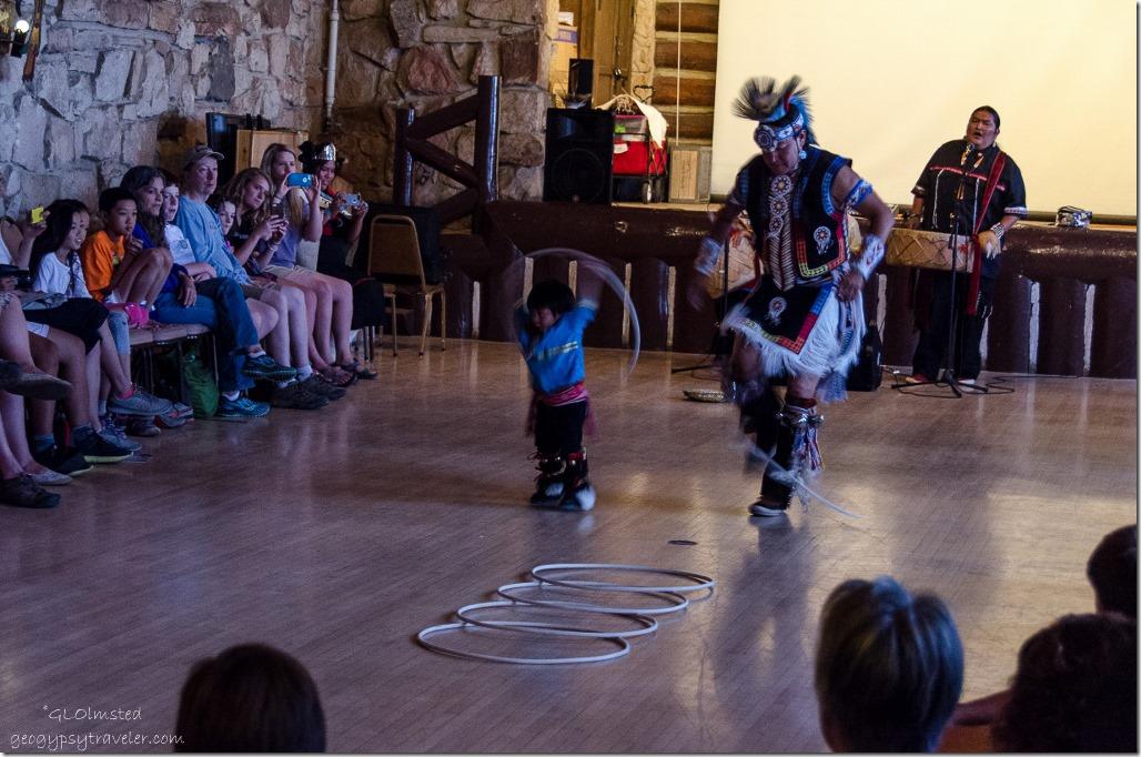 Hoop dance Native American Heritage Days North Rim Grand Canyon National Park Arizona