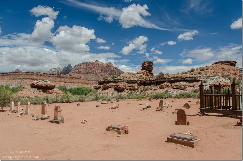 Cemetery historic Grafton Utah