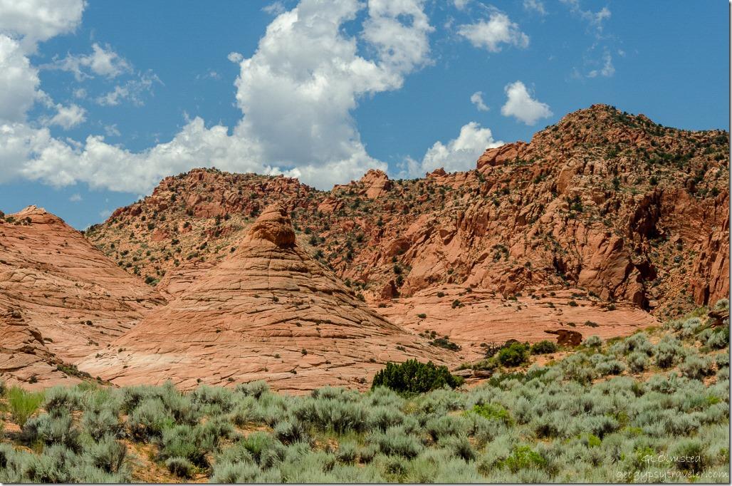 Teepee rock Upper Buckskin Gulch Paria Canyon/Vermilion Cliffs Wilderness area Utah