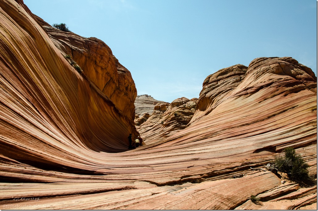 Approaching The Wave Paria Canyon-Vermilion Cliffs Wilderness Arizona