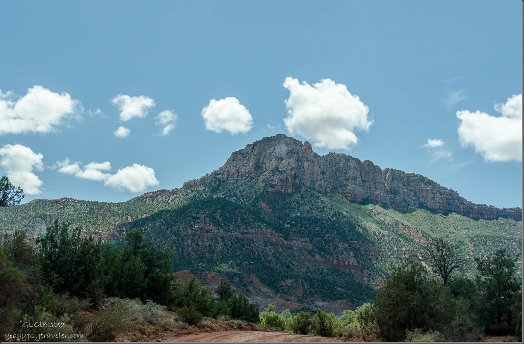Smithsonian Butte from Back Country Byway Utah