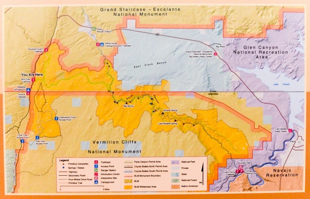 blm colorado map with Coyote Buttes North on Hells Canyon Byway furthermore Best C grounds Near Moab Arches Canyonlands Dead Horse Point Blm More Us Ut 11 together with Pinnacles C aign in addition Royal Gorge Index further Virtual Omnibus Tour Wel e Alabama E2 80 99s Grand Canyon.