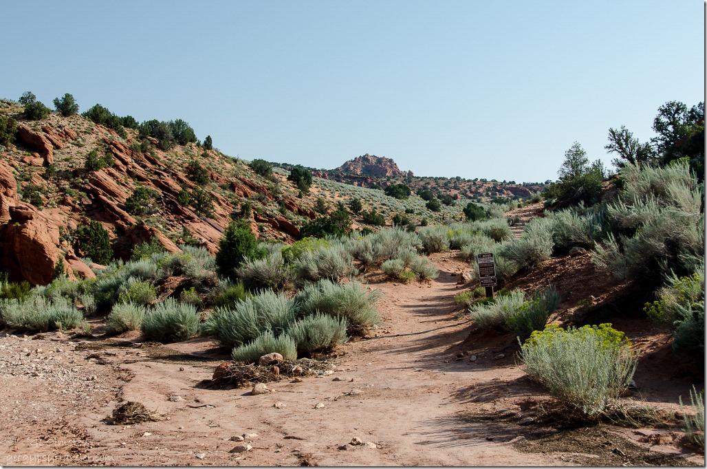 Coyote Buttes North trailhead Paria Canyon-Vermilion Cliffs Wilderness Utah