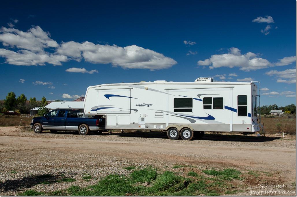 Truck & 5th-wheel Country Rose RV Park Fredonia Arizona