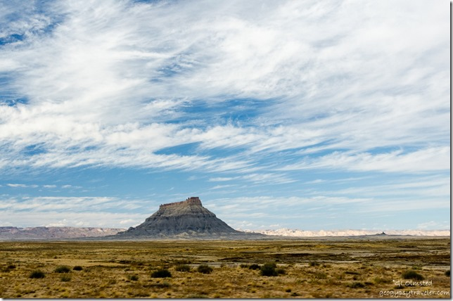 Factory Butte Capitol Reef Country Scenic Byway UT24 Utah