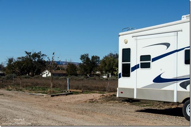 Site & 5th-wheel Country Rose RV Park Fredonia Arizona