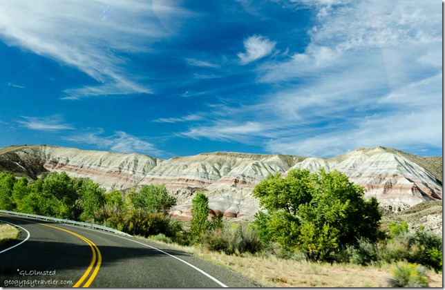 Maybe North Blue Flats Capitol Reef Country Scenic Byway UT24 Utah
