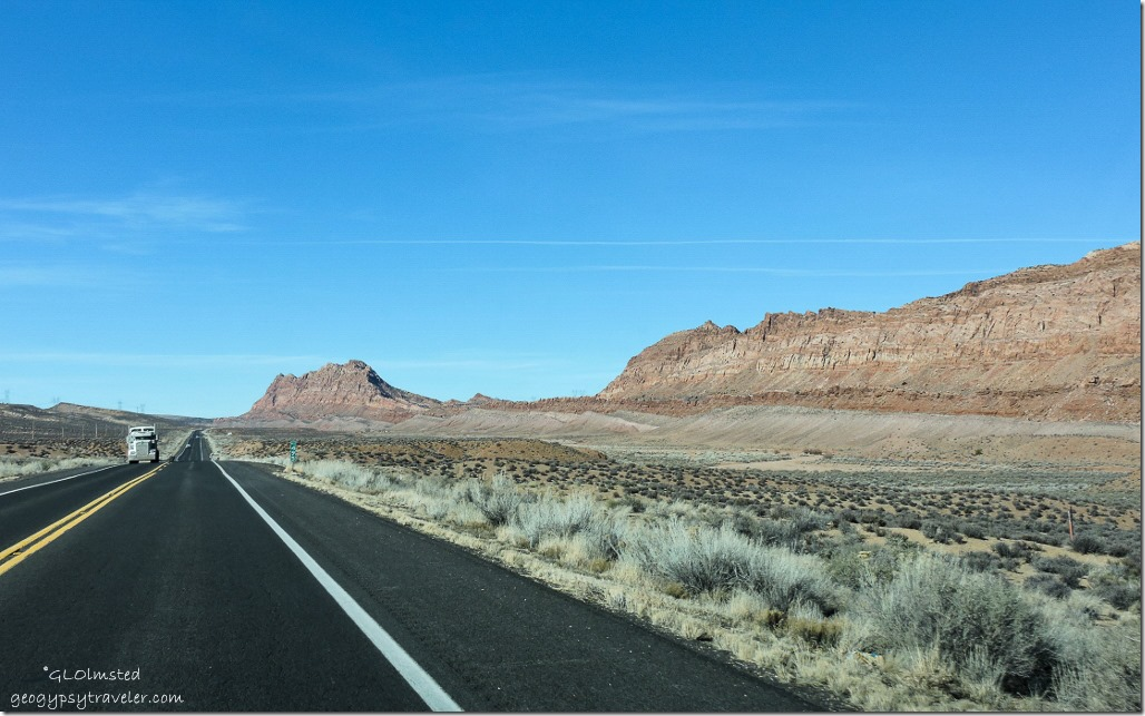 The Gap Echo Cliffs SR89A north Arizona