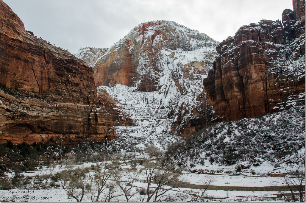 Virgin River & canyon Zion National Park Utah