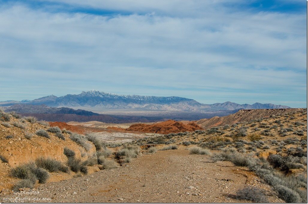 End of Fire Canyon Road Valley of Fire State Park Nevada