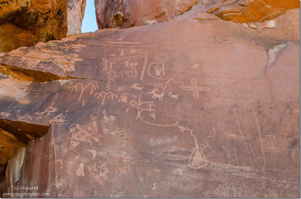 Atlatl Rock Valley of Fire State Park Nevada