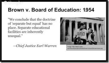 Chief Justice Earl Warren quote