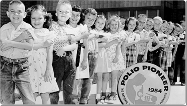 polio vacine 1954