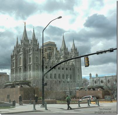 LDS Temple Salt Lake City Utah