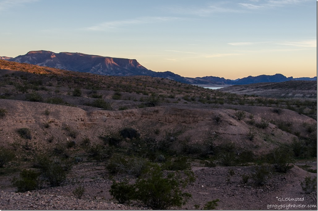 Lake Mead Callville campground Lake Mead National Recreation Area Nevada