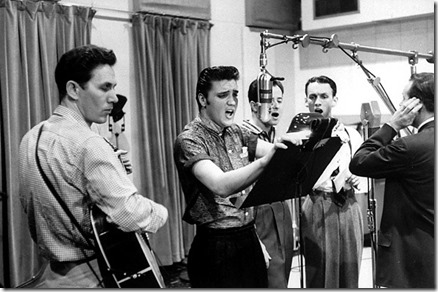 Elvis recording Jan 4 1954