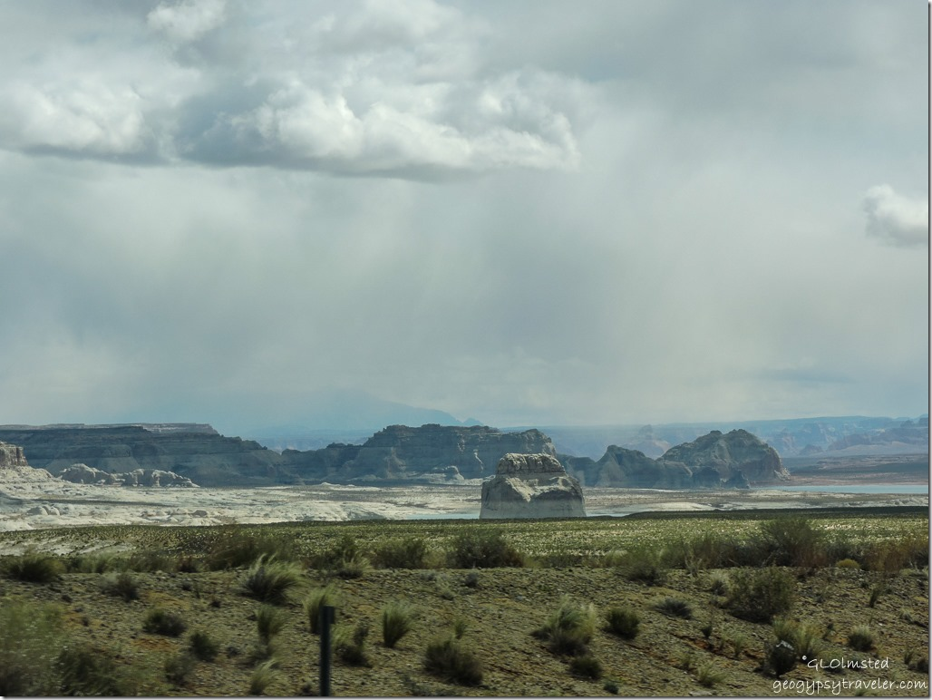 Lone Rock Lake Powell Glen Canyon National Recreation Area Utah