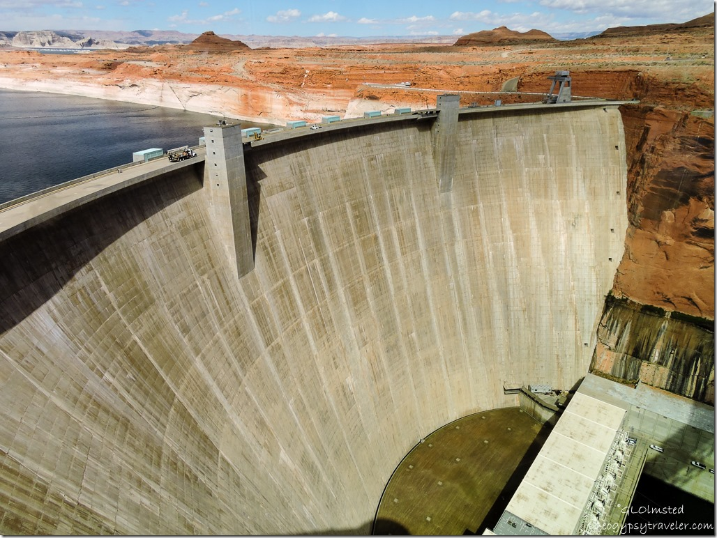 Glen Canyon Dam from Visitor Center Page Arizona