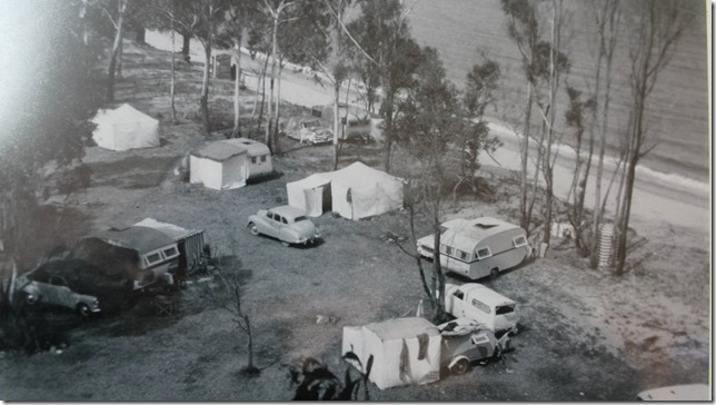 Camping in the 50s