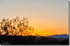 Sunset Kelso Dunes Mojave National Preserve California