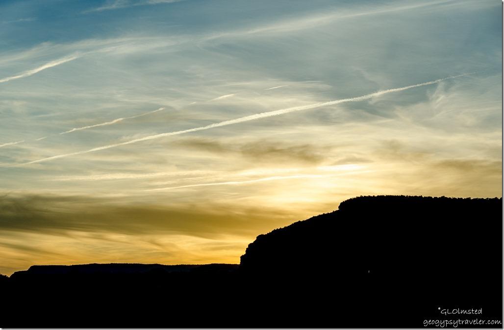 Sunset Utah