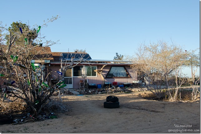 Back of Suzanne's house Buzzard's Roost Joshua Tree California