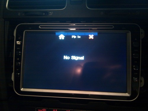 No signal on GPS