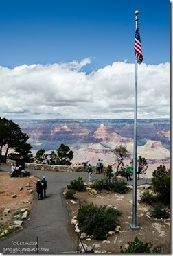 Canyon view from Verkamps South Rim Grand Canyon National Park Arizona