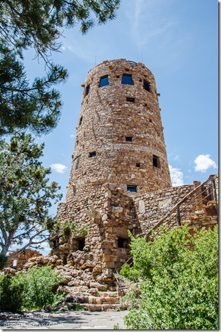 Desert View Watchtower South Rim Grand Canyon National Park Arizona
