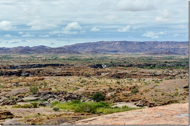 View from Moon Rock Augrabies Falls National Park South Africa