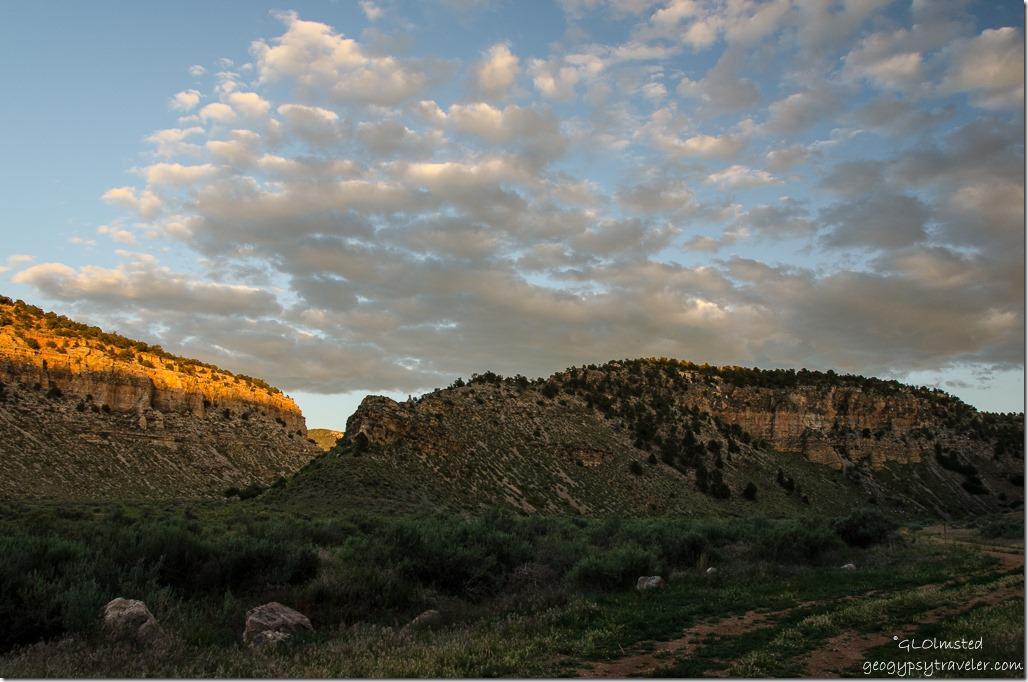 Sunset Snake Gulch Kaibab National Forest Arizona