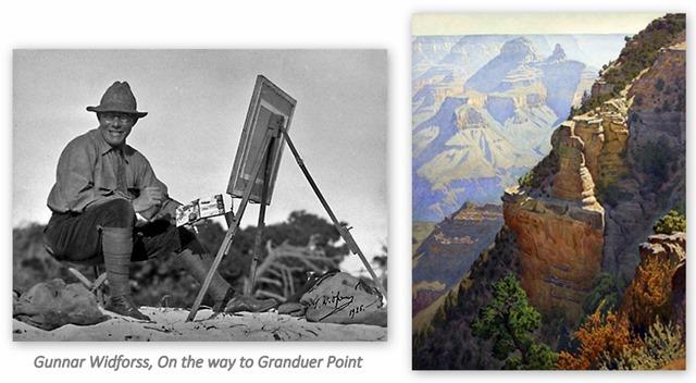 Gunnar Widforss, On the Way to Granduer Point