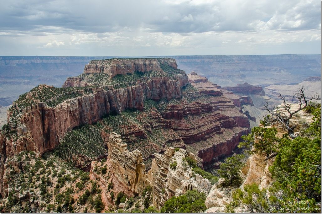 Wotans Throne Cape Royal North Rim Grand Canyon National Park Arizona