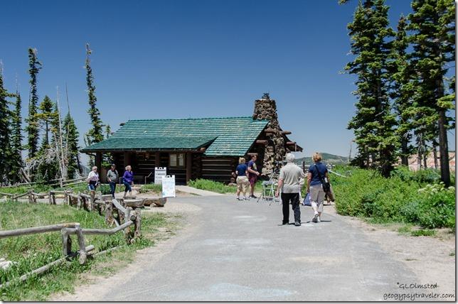 Visitor Center Cedar Breaks National Monument Utah