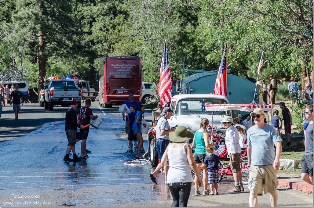 4th of July water parade North Rim Grand Canyon National Park Arizona