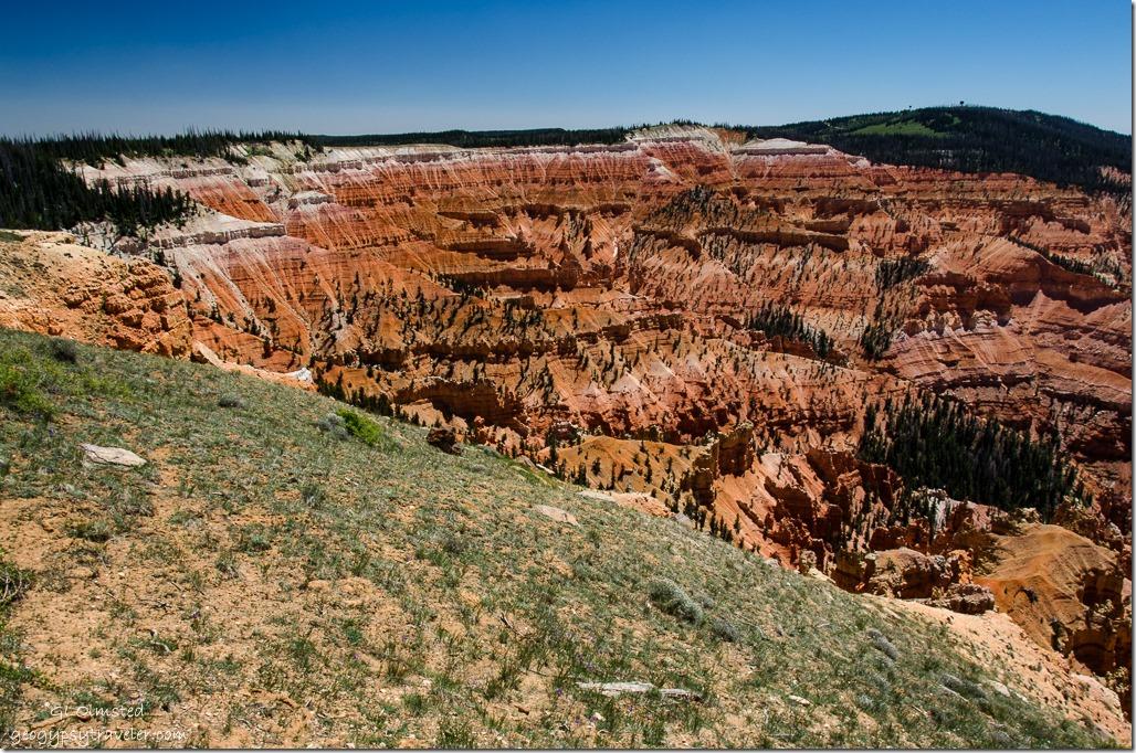 Chessman Ridge Overlook Cedar Breaks National Monument Utah