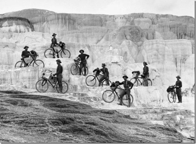 Buffalo soldiers at Yellowstone 1896