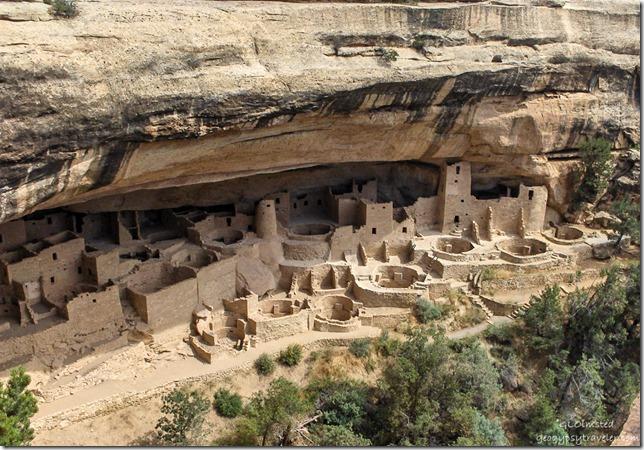 Cliff Palace Mesa Verde National Park Colorado