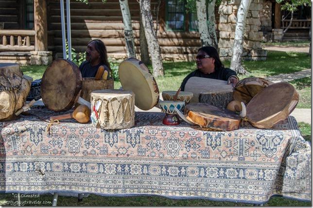 Bennet Jackson Hualapai drums Heritage Days North Rim Grand Canyon National Park Arizona
