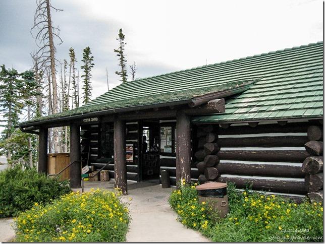 Visitor Center built 1937 by CCC Cedar Breaks National Monument Utah