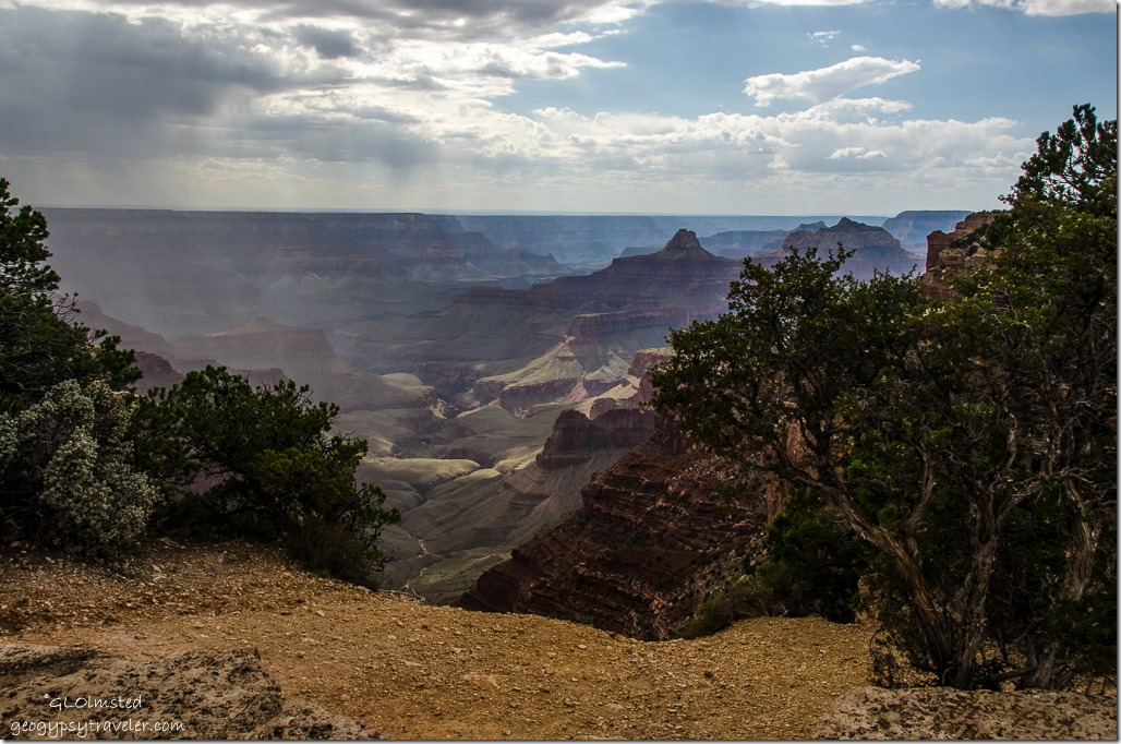View SW from Cape Royal North Rim Grand Canyon National Park Arizona