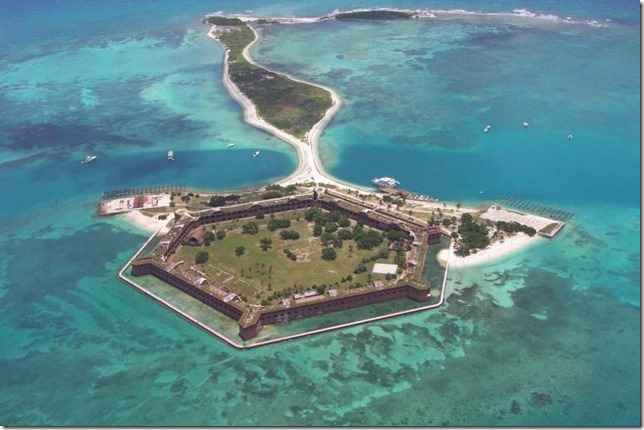 Dry Tortugas National Park Fort Jefferson aerial looking east by NPS 3EA6FC2D-1DD8-B71C-07E07949135F5392