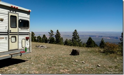 View from camp Marble View Kaibab Kaibab National Forest Arizona
