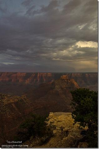 Vishnu Temple from Cape Royal North Rim Grand Canyon National Park Arizona