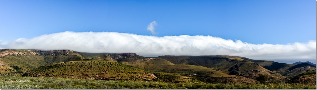 Tablecloth on mountains Mountain Zebra National Park Eastern Cape South Africa