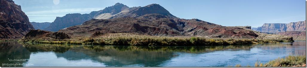 Colorado River River trail Lee's Ferry Glen Canyon National Recreation Area Arizona