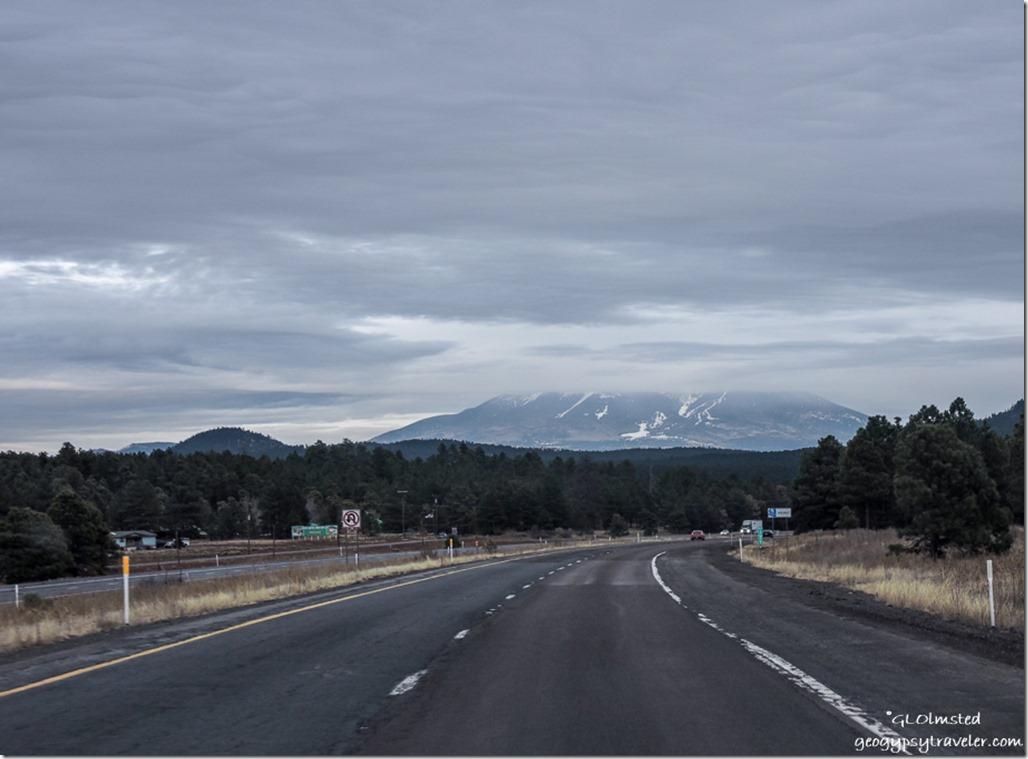 DSCN9388 Snow Humphreys Peak I40 Eeast Arizona