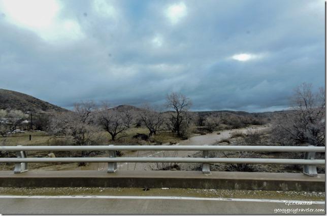 Water in Kirkland Creek Kirkland Arizona